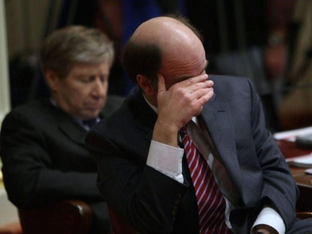 California State Senate shame (Justin Sullivan / Getty)