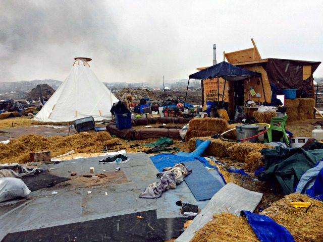 Campsites Dakota Protests KRMG