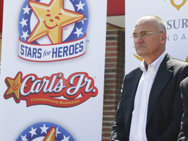 Carl's Jr. Anthony Puzder (Jack Plunkett / Associated Press)
