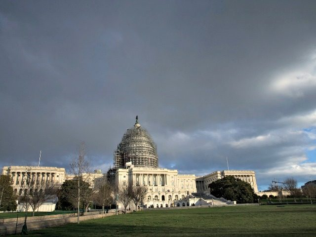 The Capitol is seen just before sunset as lawmakers prepare to return to work following the holiday break, Monday, Jan. 4, 2016. Legislation repealing President Barack Obama's health care law comes to the forefront when the House reconvenes, marking a sharply partisan start to a congressional year in which legislating …