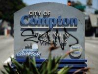 Compton graffiti (Kevork Djansezian / Getty)