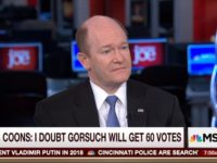 Dem Sen Coons: GOP Using Nuclear Option to Confirm Gorsuch 'Tragic'