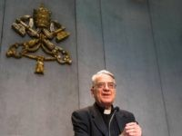 Vatican spokesman the Rev. Federico Lombardi arrives for a press conference at the Vatican, Monday, July 7, 2014. Pope Francis has held his first meeting with a group of Catholics who were sexually abused by clergy. Lombardi said two Irish, two British and two German victims met separately Monday for …