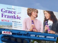 Jane Fonda 'Grace and Frankie' Vibrator Billboard Turning Heads in Hollywood