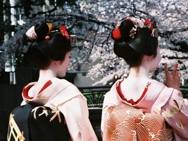 Geisha (Kate Nevens / Flickr / CC / Cropped)