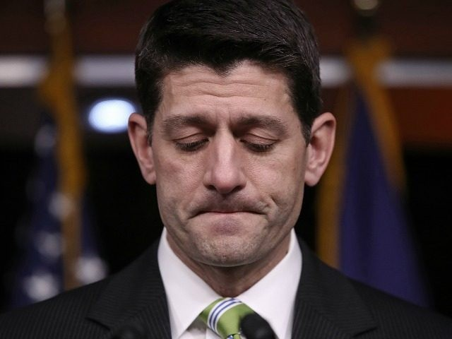 House Speaker Paul Ryan on March 24, 2017 in Washington, DC.
