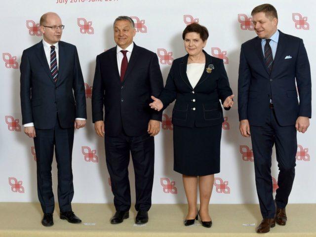 Visegrad Group leaders