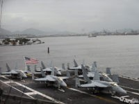 Exclusive: USS Carl Vinson Shadowed by Russian, Chinese Spy Ships Near South Korea