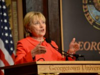 Hillary-Clinton-Georgetown-University-March-31-2017-Penny-Starr