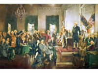 Howard Chandler Christy: Scene at the Signing of the Constitution