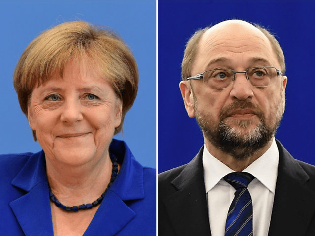 Angela Merkel faces one of her toughest domestic challengers yet in the shape of Martin Schulz