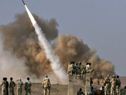 Iran Ballistic Missile Launch AP