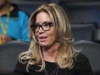 Jeanie Buss of the Lakers (Mark J. Terrill / Associated Press)