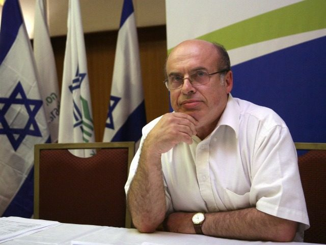 Natan Sharansky is seen delivering a 15-minute acceptance speech after being sworn in as the new chairman of the Jewish Agency in the in Jerusalem on June 25, 2009. Sharansky's appointment was confirmed following a compromise between American donors and the Israeli government. AFP PHOTO/JINI/EMIL SALMAN (Photo credit should read …