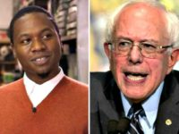 Juan-Thompson and Bernie-Sanders