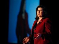 Republican candidate for U.S. Senate Karen Handel, speaks during a forum Monday, Jan. 27, 2014, in Atlanta. (AP Photo/John Bazemore)