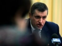 Leonid Slutsky, a senior Russian lawmaker, speaks during a press conference in Simferopol, Crimea, Ukraine. The United States and its European allies stepped up their pressure on Russia to end its intervention in Ukraine by imposing the most comprehensive sanctions against Russian officials since the Cold War. Leonid Slutsky is …