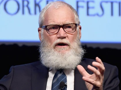 David Letterman: I Don't Like That 'Goon' Trump as President of Our Country