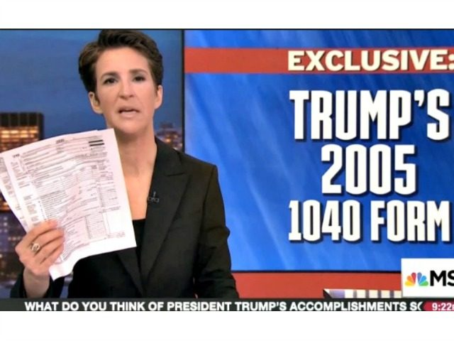 Maddow Trump Tax MSNBC