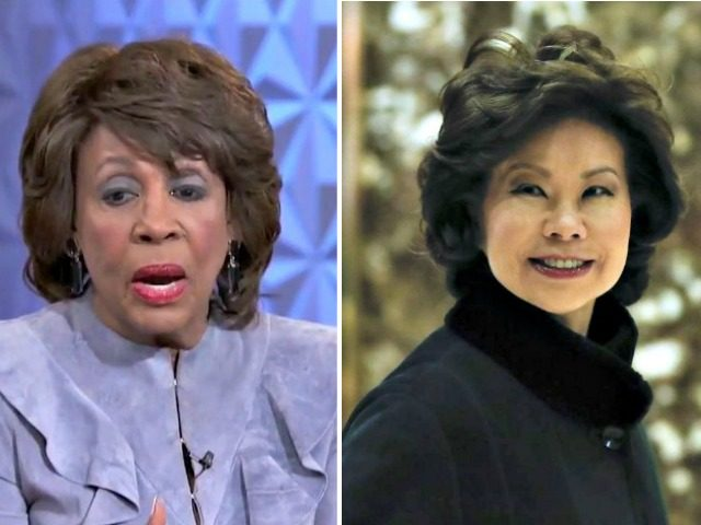 Maxine Waters, Elaine Chao