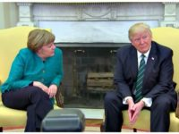 Merkel and Trump