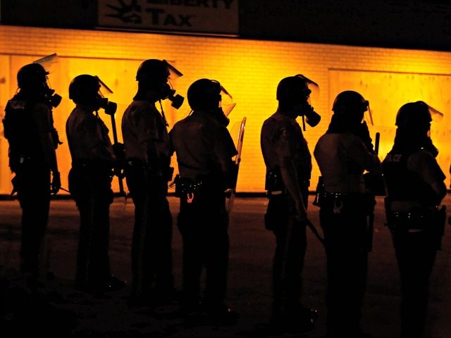 Militarized Police APCharlie Riedel