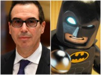 Democrat Wants Ethics Investigation into Mnuchin's 'Lego Batman' Joke