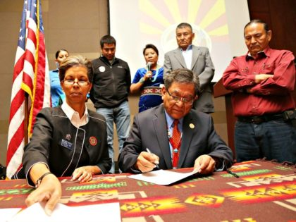 EXCLUSIVE: Navajos Celebrate End of Obama's Job-Killing Energy Policies: Trump Offers 'Unwavering Support' for Coal
