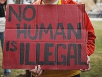 No Human is Illegal (prathap ramamurthy / Flickr / CC / Cropped)