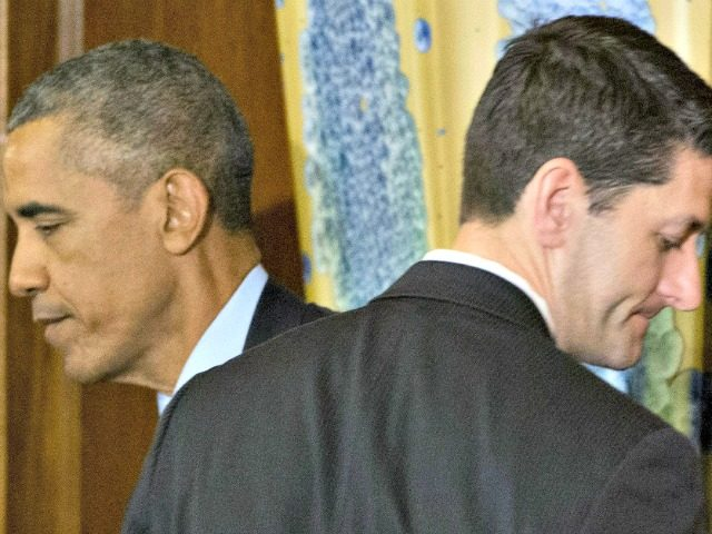 Obama-Ryan-Cross Purposes-APPablo Martinez Monsivais