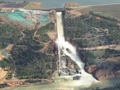 Oroville Dam Spillway (Joel Pollak / Breitbart News)
