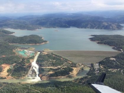 Oroville Lake and Dam (Breitbart News)