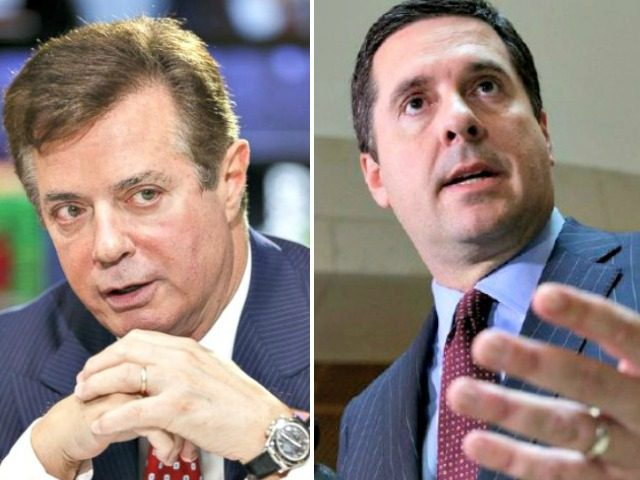 Paul Manafort and Devin Nunes Getty,