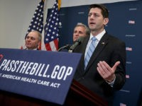 CBO Report: New Ryancare Saves Less than Previous Version, 24 Million Still Lose Insurance by 2026