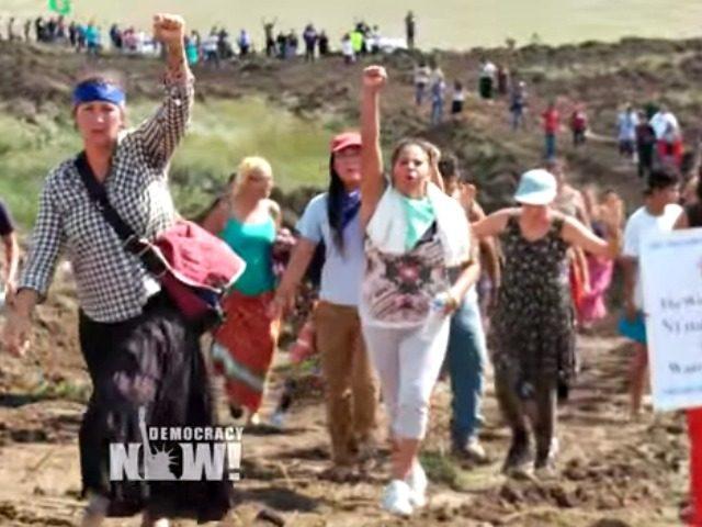 Pipeline Protesters Democracy Now!