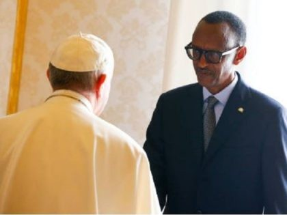 Pope and Kagame 2