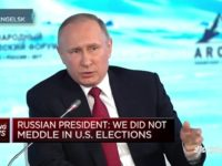 Putin: Allegations of Russian Meddling in U.S. Elections 'Fictional, Illusory and Provocations, Lies'