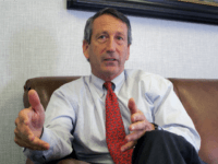 In this Dec. 18, 2013, file photo, U.S. Rep. Mark Sanford, R-S.C., discusses his first months back in Congress during an interview in Mount Pleasant, S.C. A spokesman for the South Carolina Law Enforcement Division said on Tuesday, July 12, 2016 that the agency is investigating after Sanford's niece's foot …