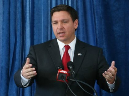 Florida U.S. congressman Ron DeSantis speaks during a pre-legislative news conference, Wednesday, Oct. 14, 2015, in Tallahassee, Fla. (AP Photo/Steve Cannon)