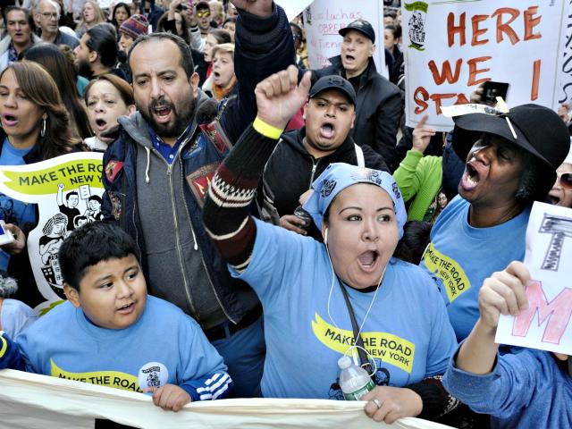 Sanctuary Protesters AP