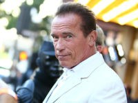 SAN DIEGO, CA - JULY 18: Arnold Schwarzenegger attends the 'Escape Plan' screening and red carpet during Comic-Con International 2013 at Reading Cinemas Gaslamp on July 18, 2013 in San Diego, California. (Photo by Joe Scarnici/Getty Images for Summit Entertainment)