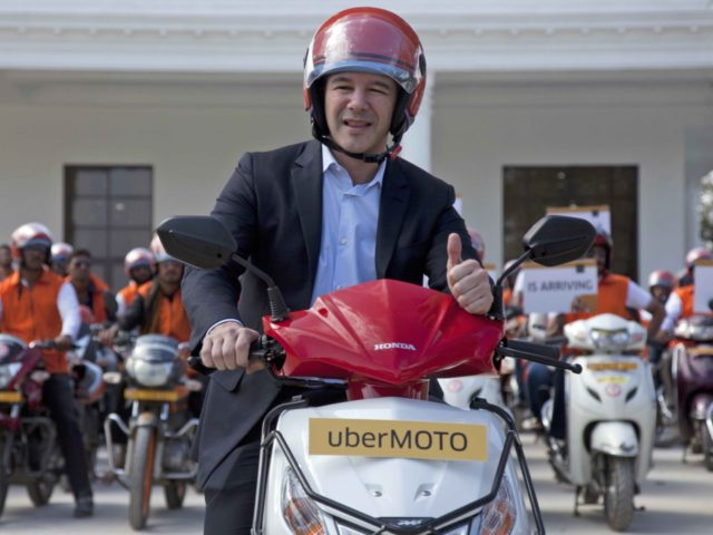 Travis Kalanick (Mahesh Kumar A. / Associated Press)