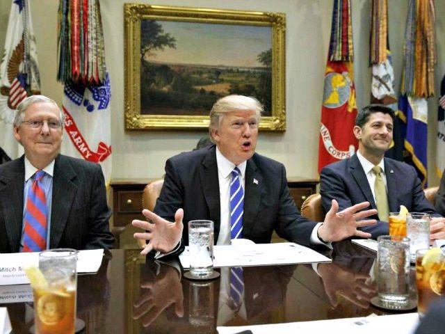 Trump, Ryan, McConnell