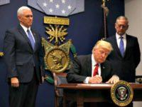 Trump Signs EO-Reuters