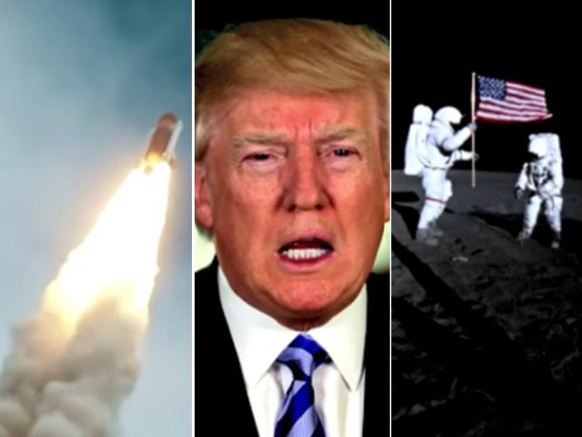 Trump Weekly Address on NASA