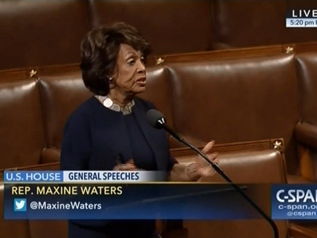 Dem Rep Waters: By Fighting Against Trump, African-Americans Saying 'You're Not Nearly As Patriotic As We Are'