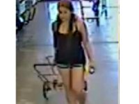 Woman Abandons Child Shopping Riverside Police Dept.