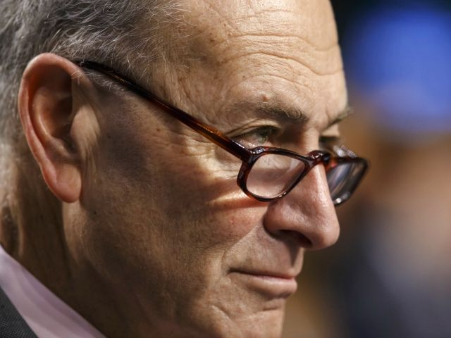 Schumer: If Breitbart, New York Times Are Given Equal Credibility, 'You Worry About this Democracy'
