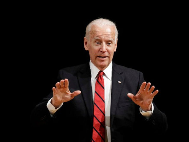 Former Vice President Joe Biden speaks during an event to formally launch the Biden Institute, a research and policy center focused on domestic issues at the University of Delaware, in Newark, Del., Monday, March 13, 2017. (AP Photo/Patrick Semansky)