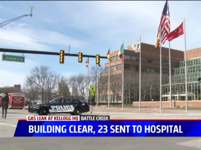 Dozens Hospitalized After Chemical Leak at Michigan Kellogg HQ